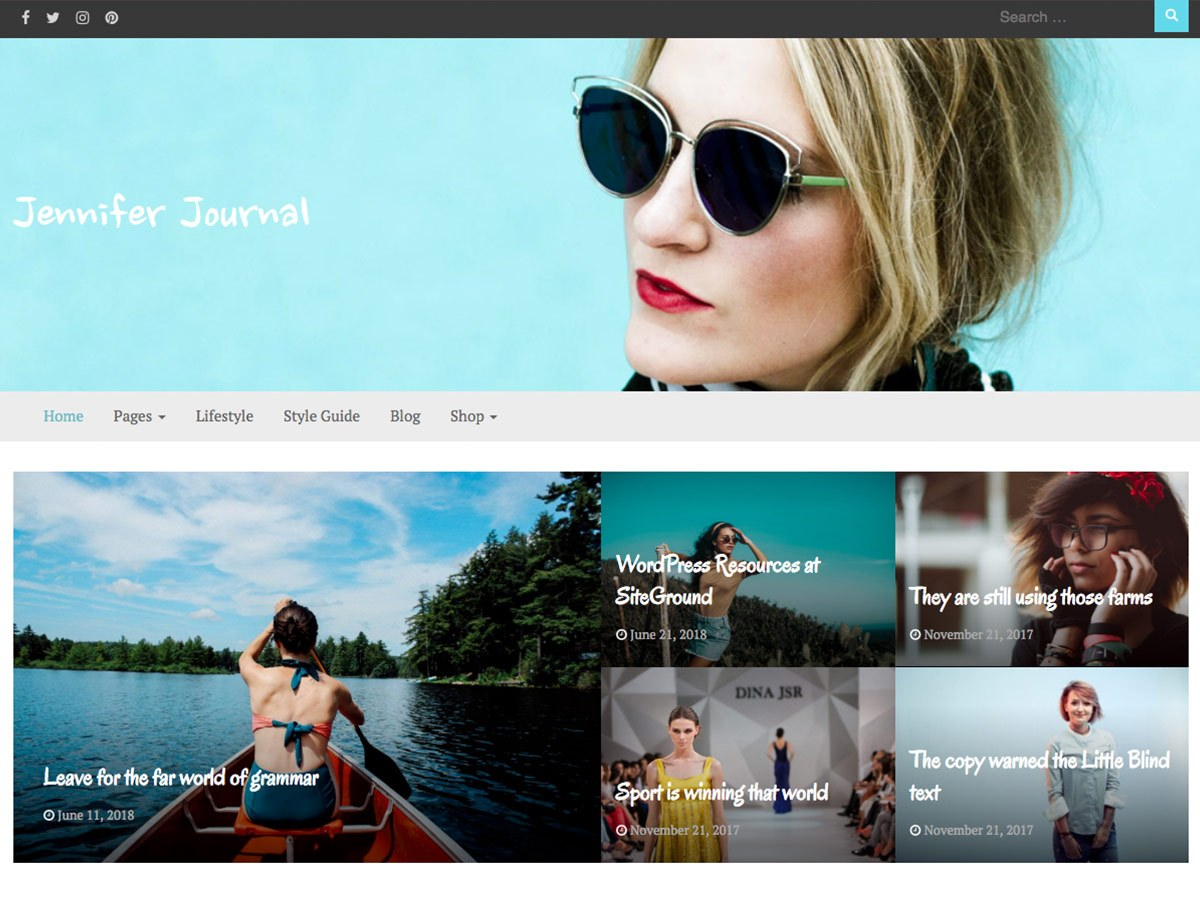 Bootstrap Journal Download Free Wordpress Theme 5