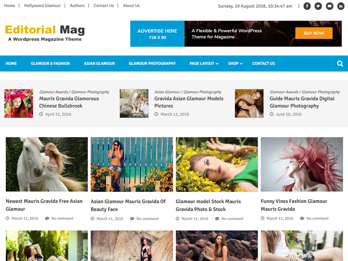 Editorialmag Lite Download Free Wordpress Theme 5