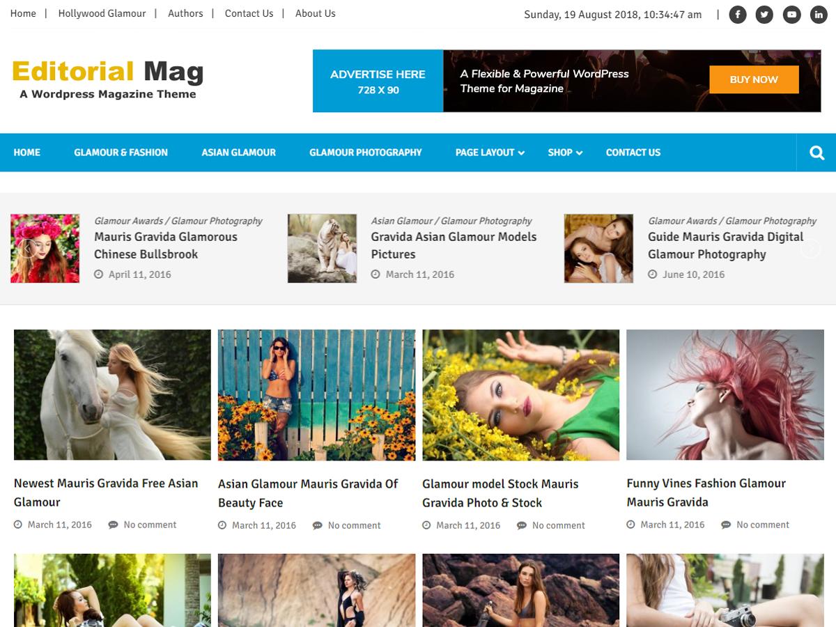 Editorialmag Lite Download Free Wordpress Theme 2