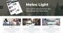 Melos Light Download Free WordPress Theme