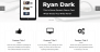 Ryan Dark Download Free WordPress Theme
