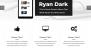 Ryan Dark Download Free WordPress Theme