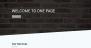 One Page C Download Free WordPress Theme