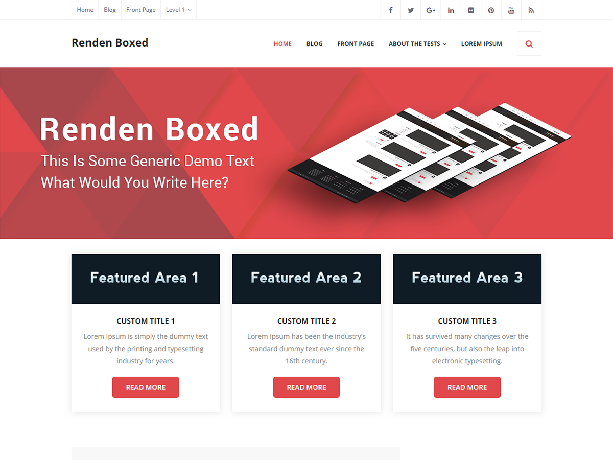 Renden Boxed Download Free Wordpress Theme 3