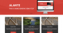 Alante Boxed Download Free WordPress Theme