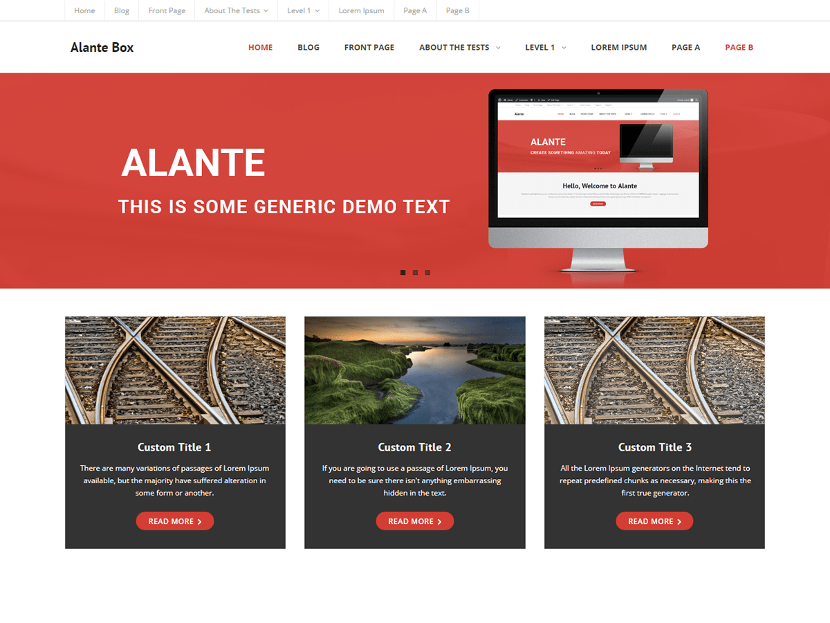 Alante Boxed Download Free Wordpress Theme 3