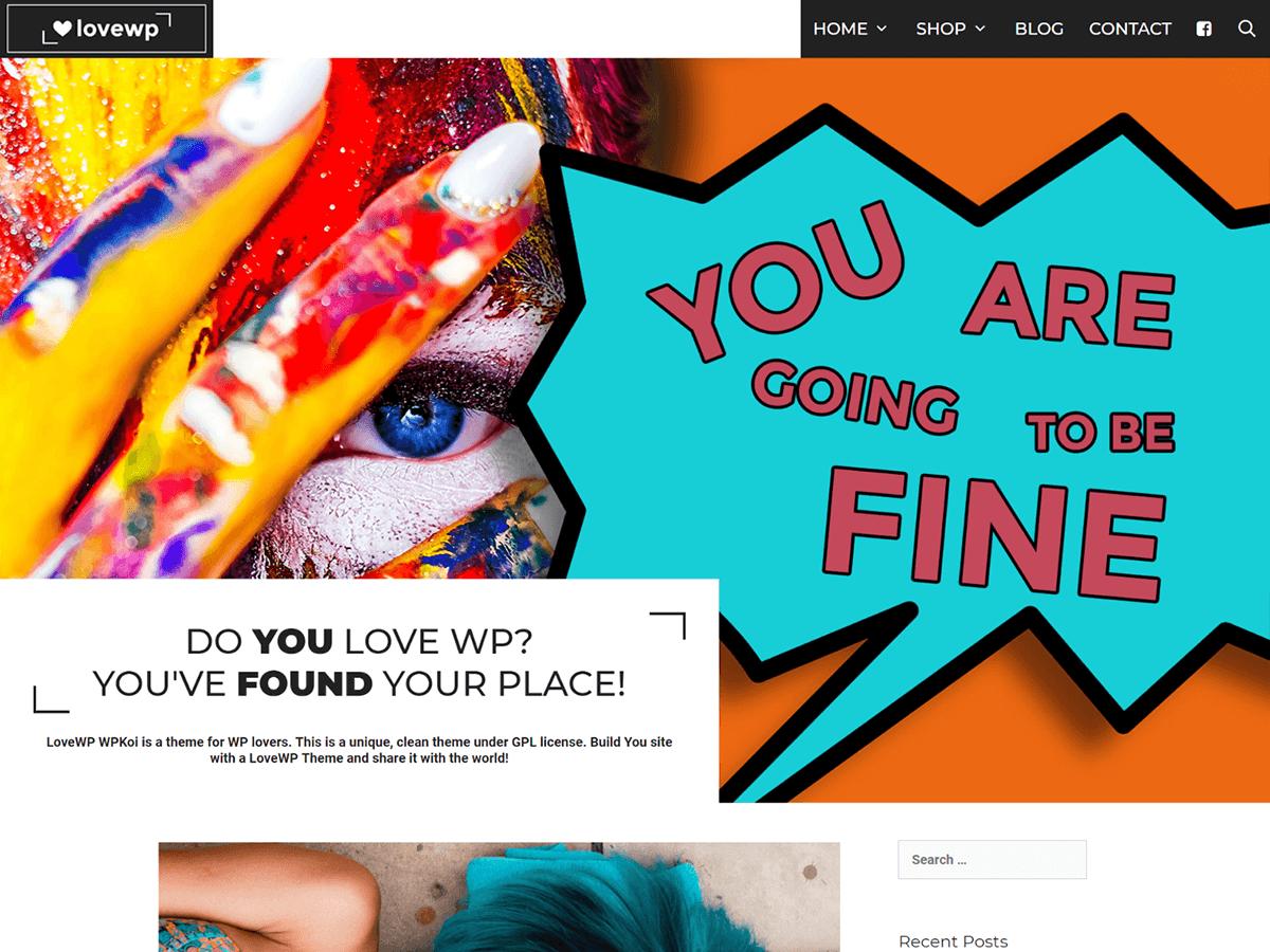 LoveWP Download Free Wordpress Theme 4