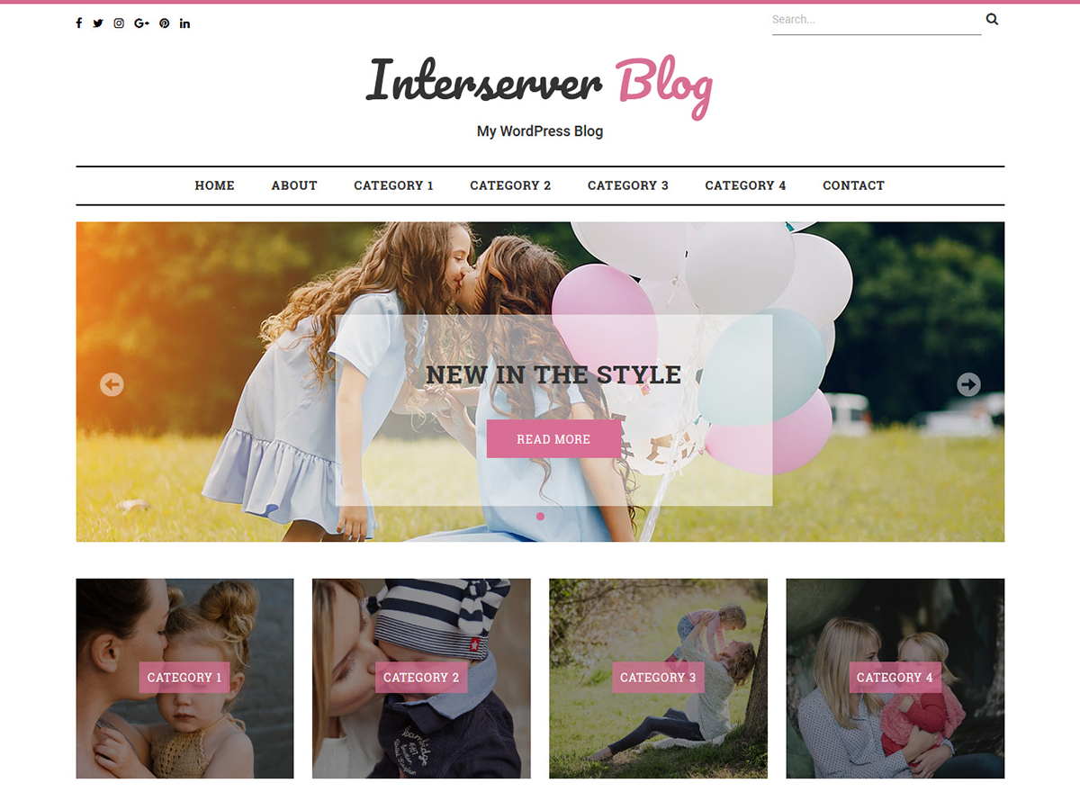 Interserver Blog Download Free Wordpress Theme 5