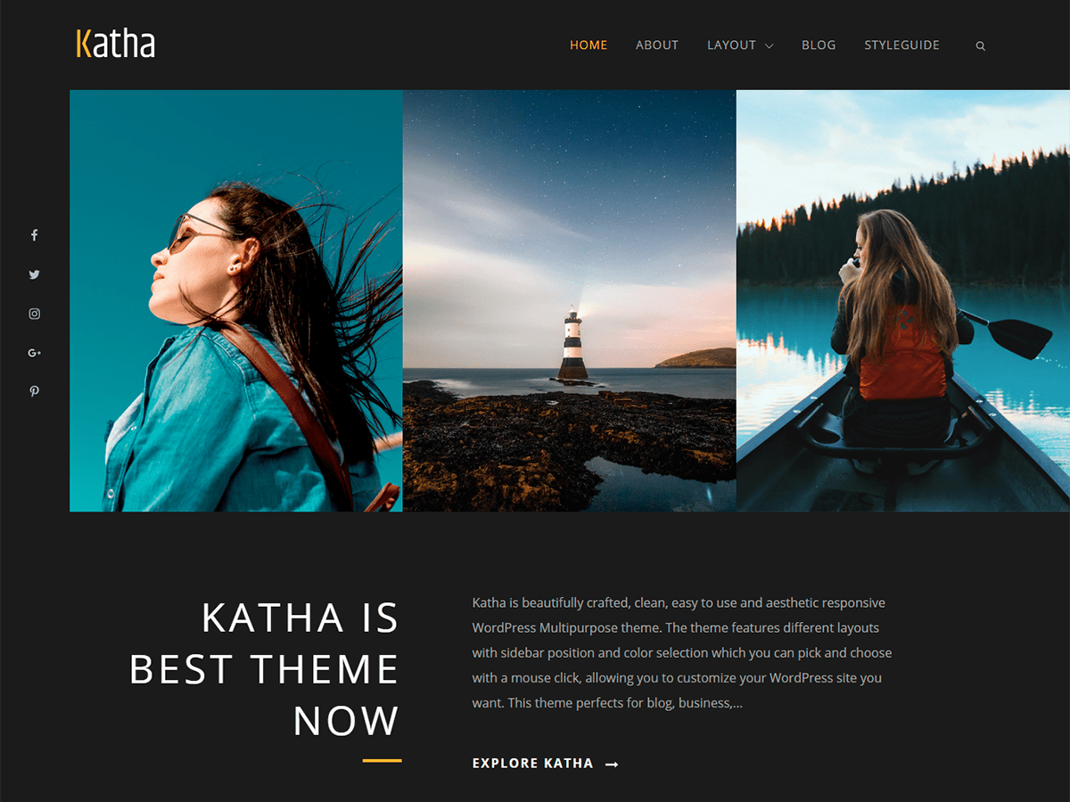 Katha Download Free Wordpress Theme 4