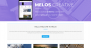 Melos Creative Download Free WordPress Theme