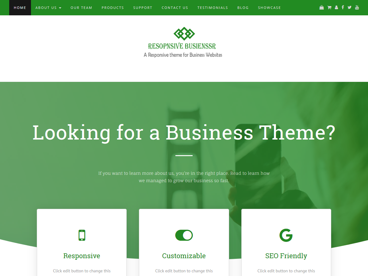 Responsive Businessr Download Free Wordpress Theme 5