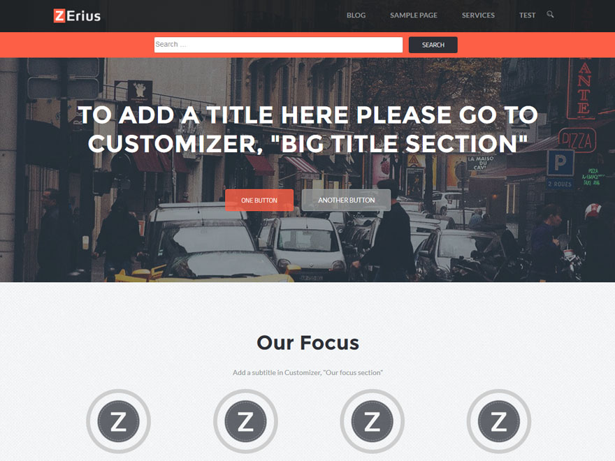 Zerius Download Free Wordpress Theme 1
