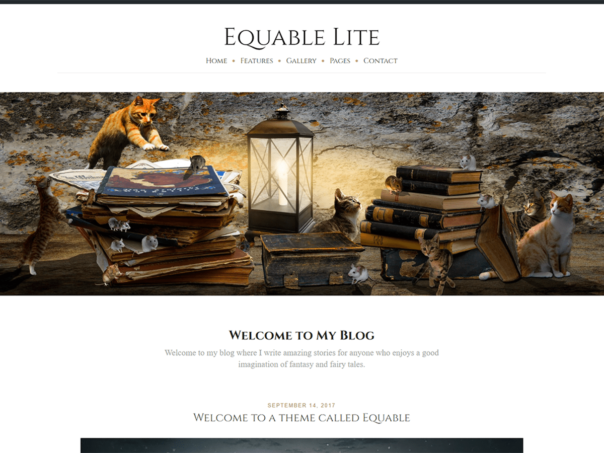 Equable Lite Download Free Wordpress Theme 1