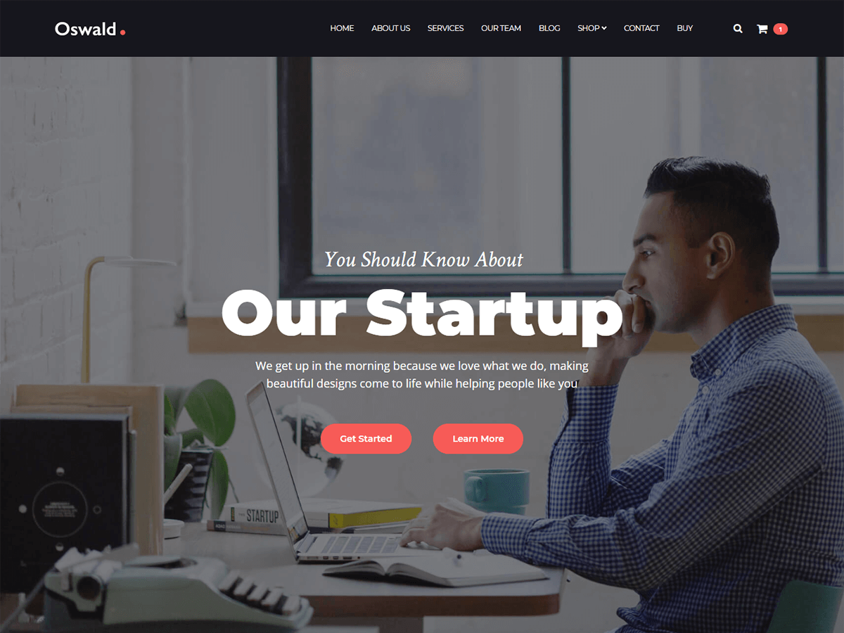 Oswald Download Free Wordpress Theme 2