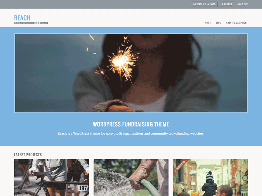 Reach Download Free Wordpress Theme 2