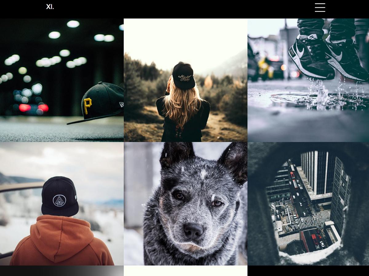 xi Portfolio Download Free Wordpress Theme 2