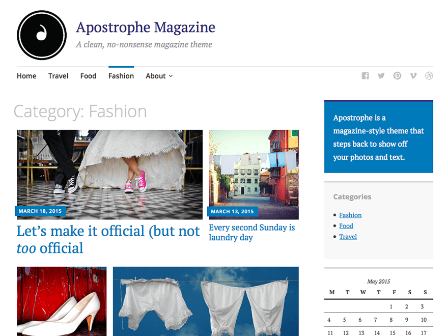 Apostrophe Download Free Wordpress Theme 2