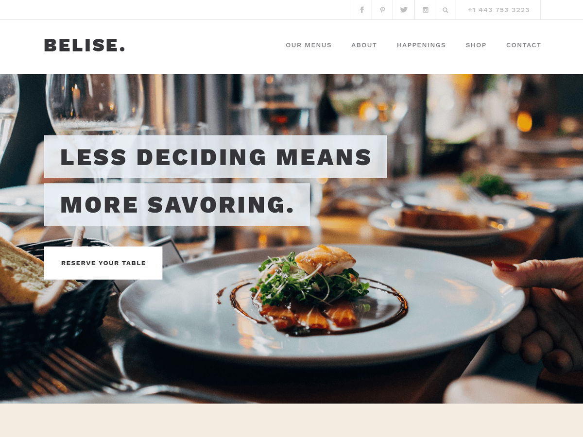 Belise Lite Download Free Wordpress Theme 1