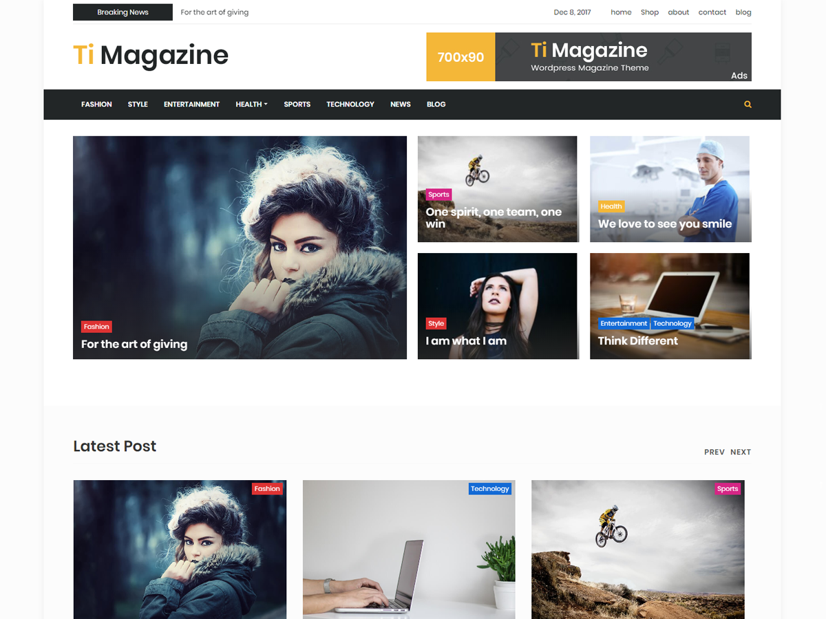 timagazine Download Free Wordpress Theme 3