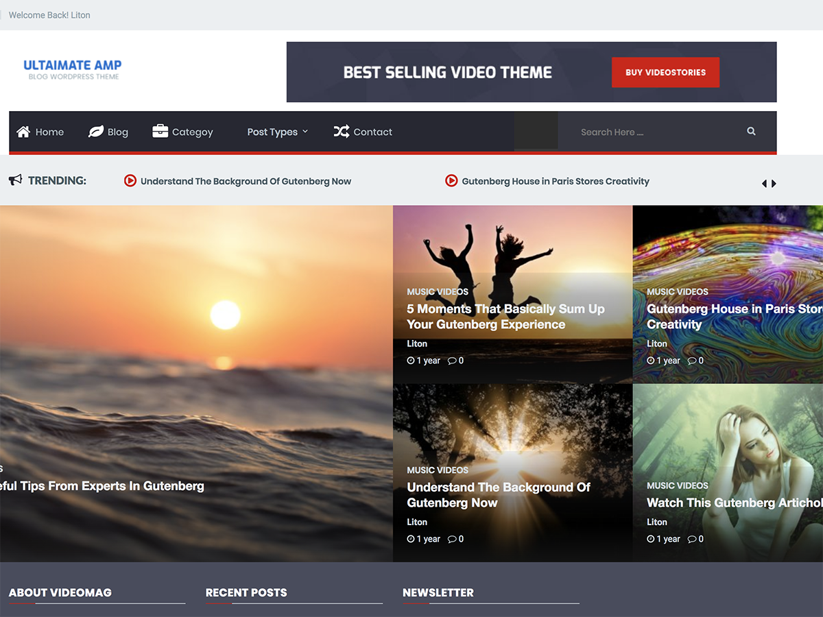 Ultimate AMP Download Free Wordpress Theme 2