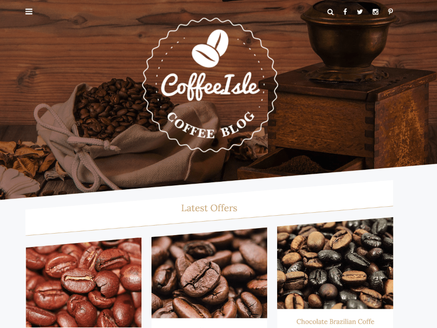 Coffeeisle Download Free Wordpress Theme 2