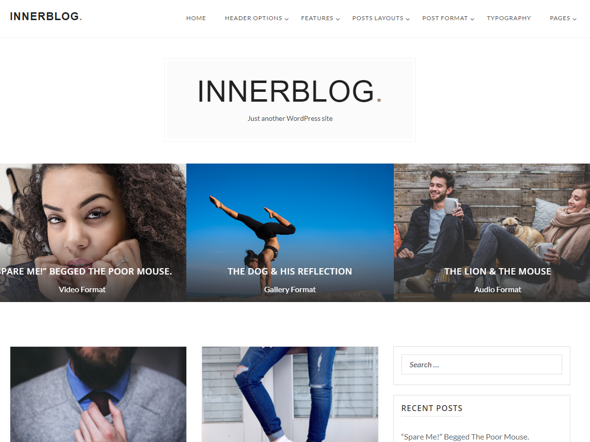 InnerBlog Download Free Wordpress Theme 3
