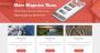 Melos Magazine Download Free WordPress Theme