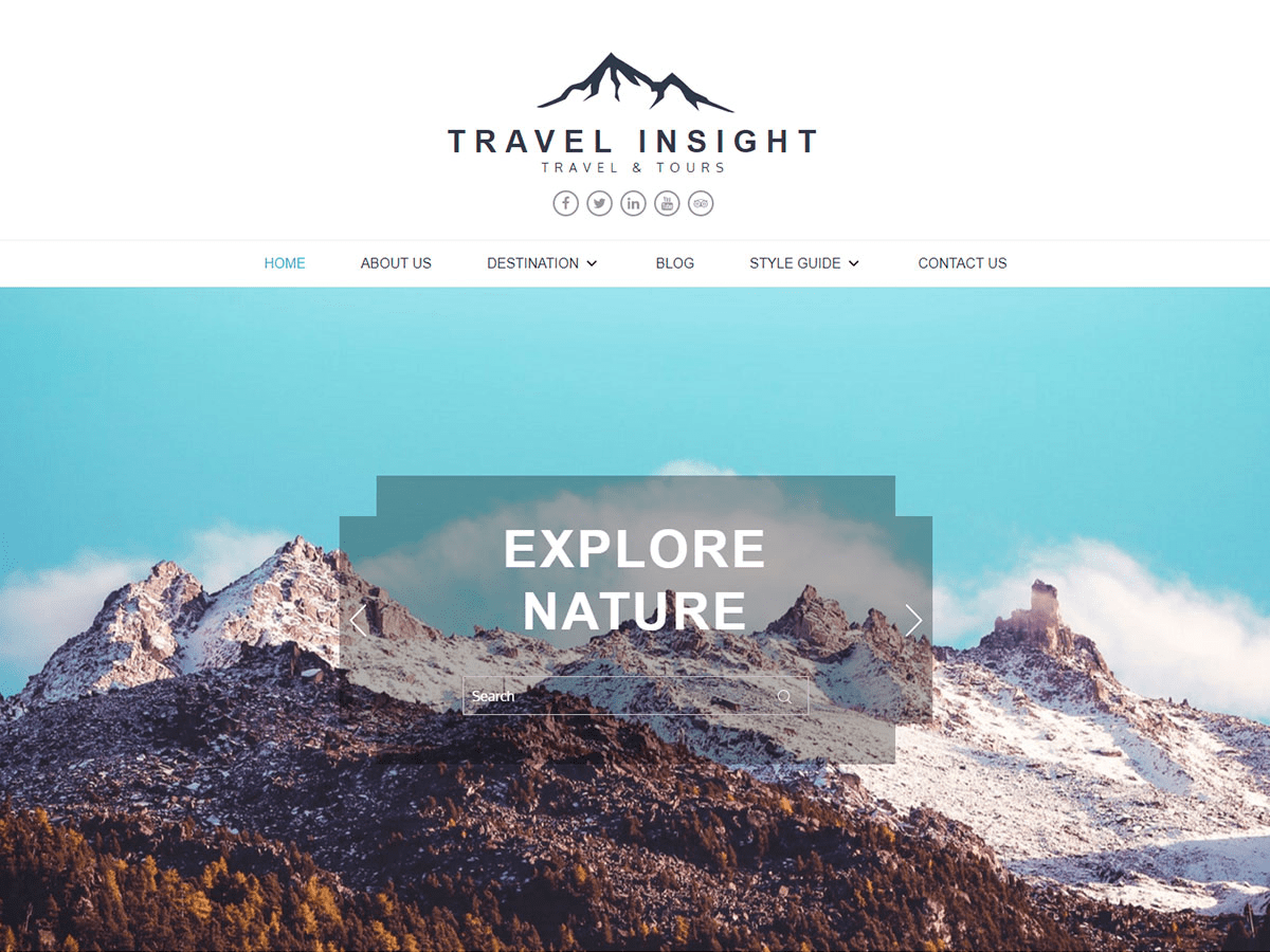 Travel Insight Download Free Wordpress Theme 3