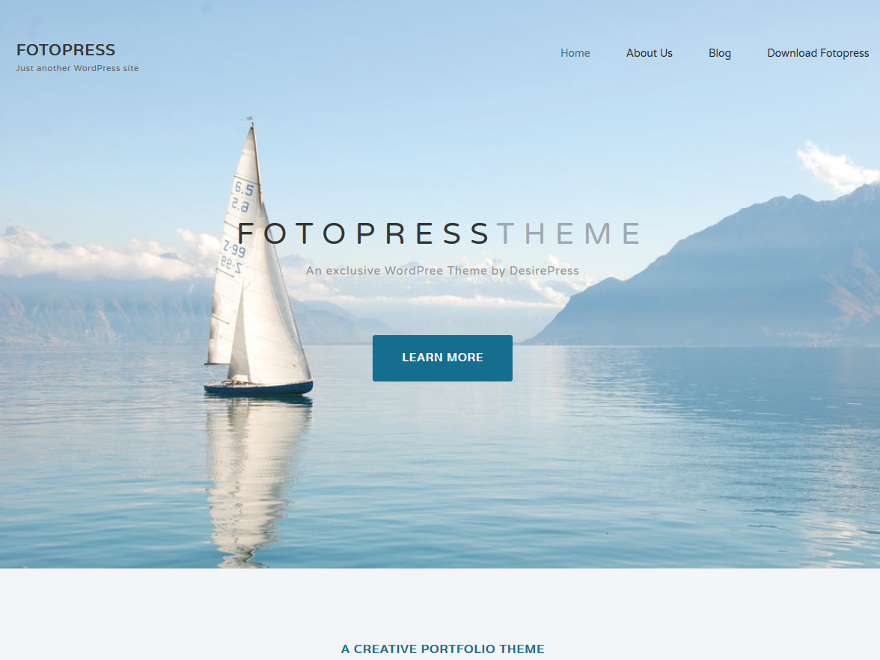Fotopress Download Free Wordpress Theme 3