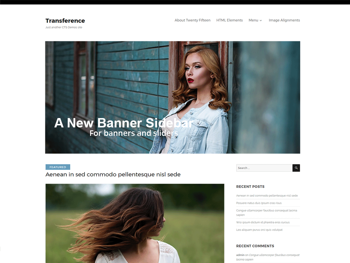Transference Download Free Wordpress Theme 1