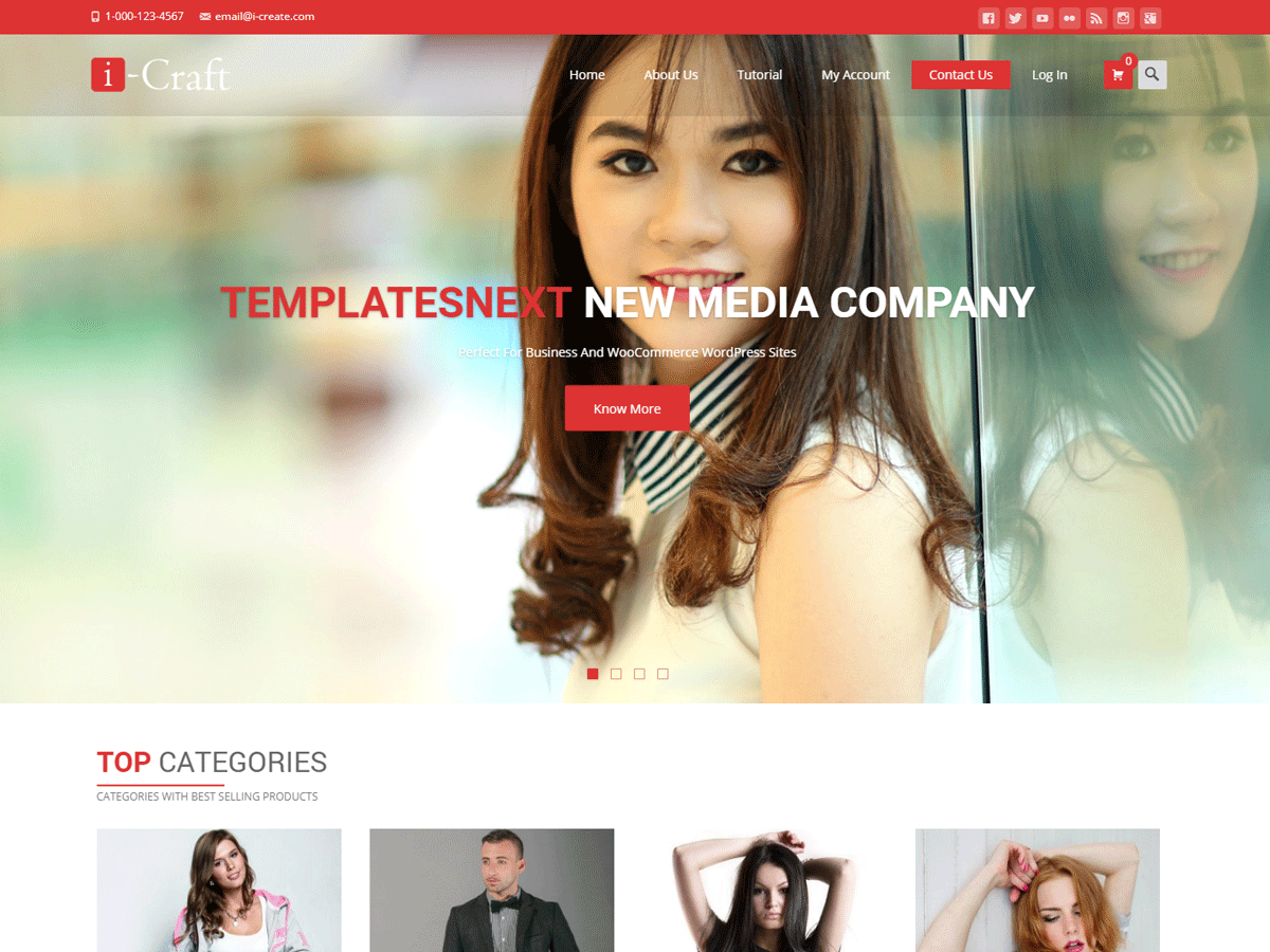 Shaurya Download Free Wordpress Theme 2