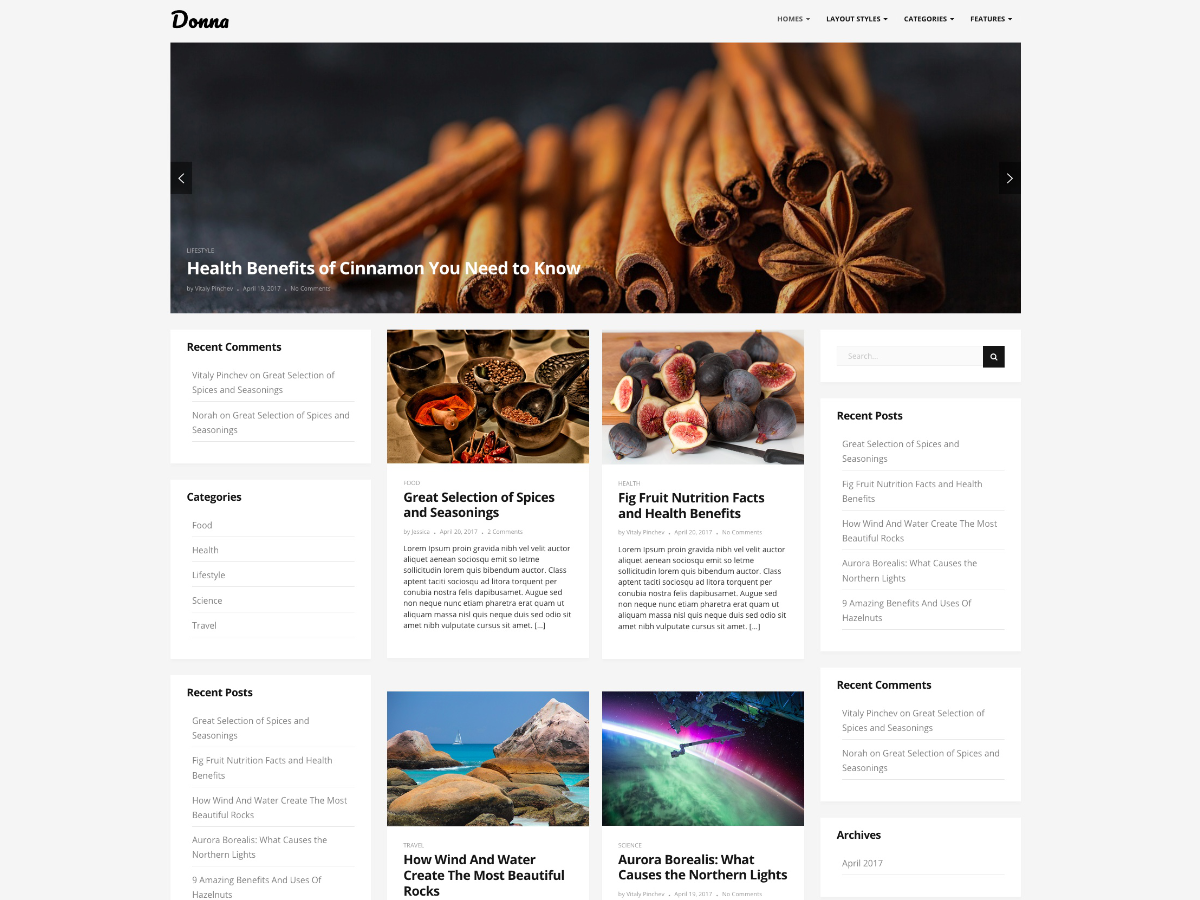Donna Download Free Wordpress Theme 5
