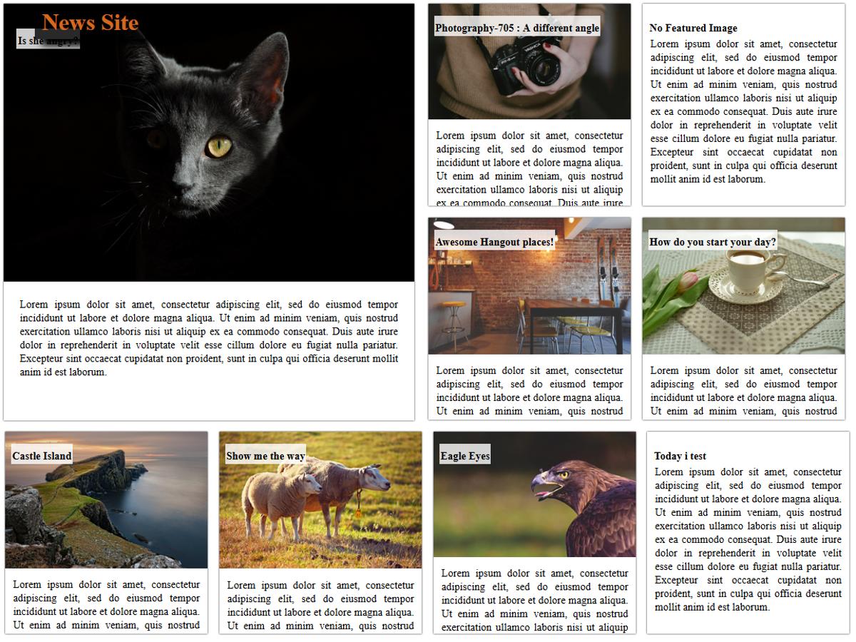 News Site Download Free Wordpress Theme 1