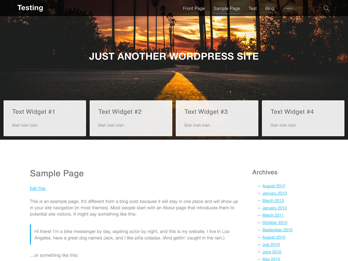 Services Download Free Wordpress Theme 3
