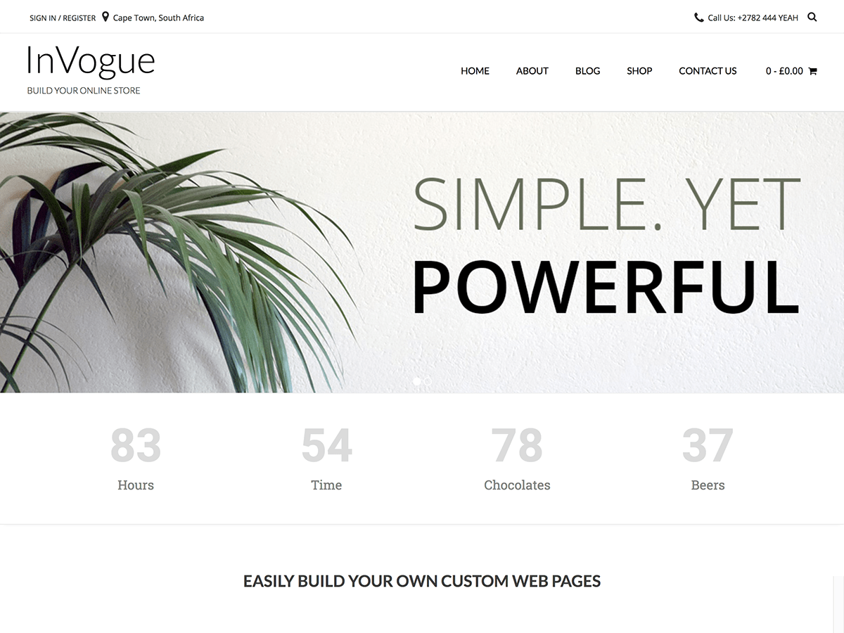 InVogue Download Free Wordpress Theme 2