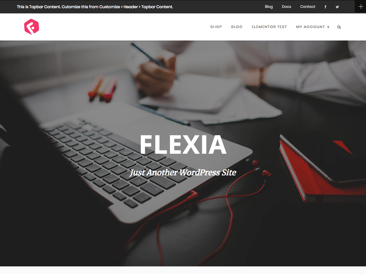 Flexia Download Free Wordpress Theme 1