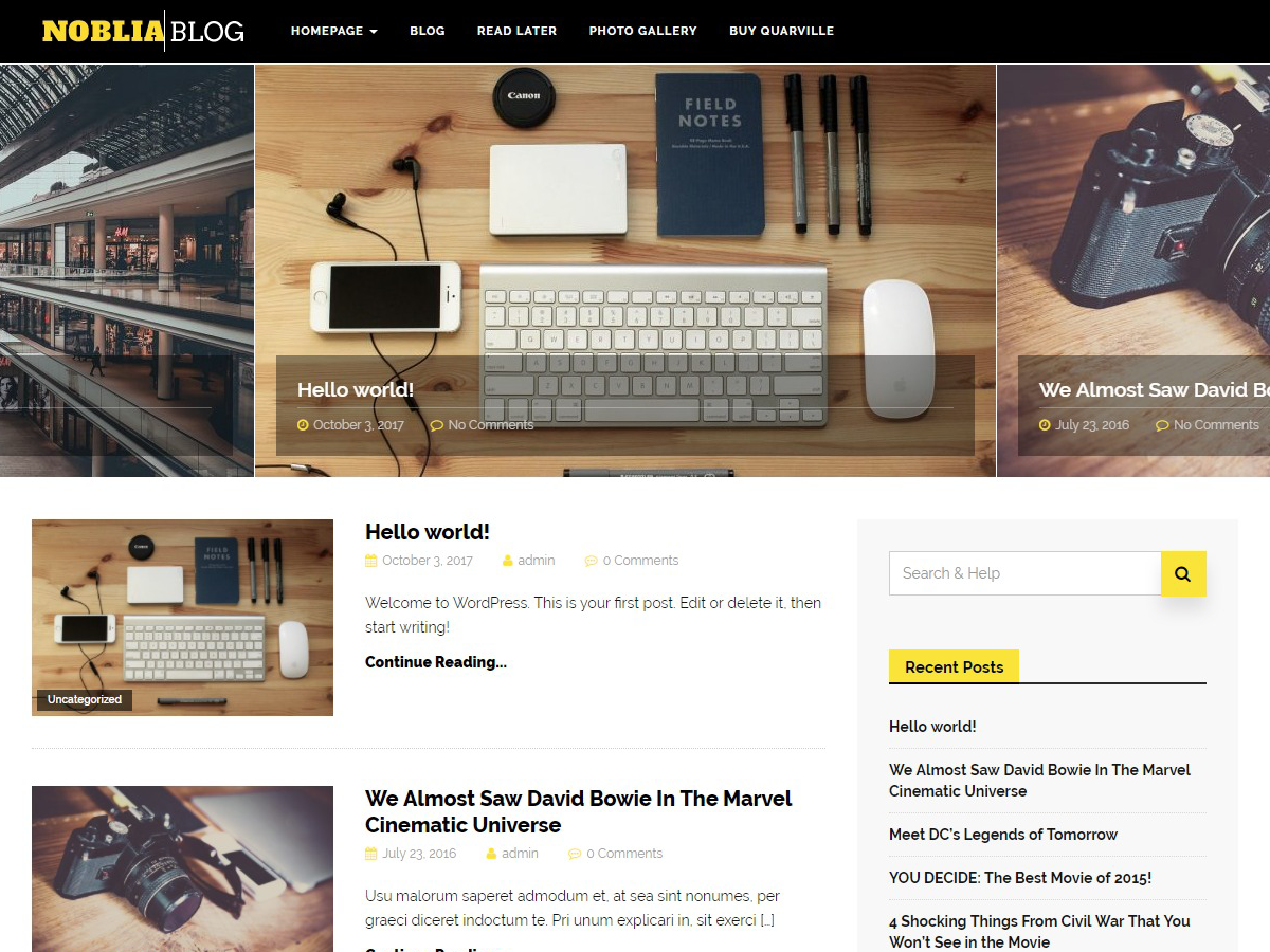 Noblia Download Free Wordpress Theme 4