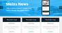 Melos News Download Free WordPress Theme
