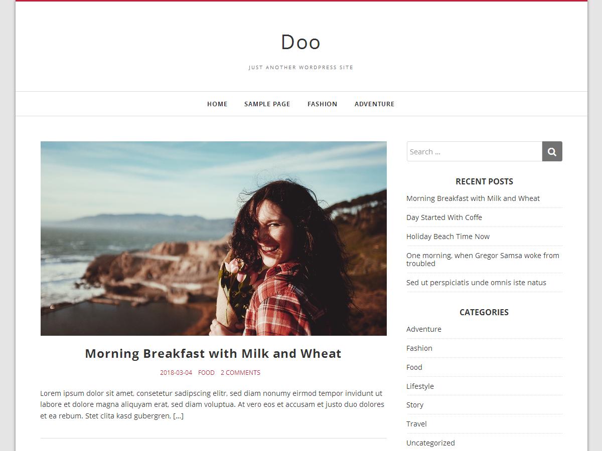 Doo Download Free Wordpress Theme 1