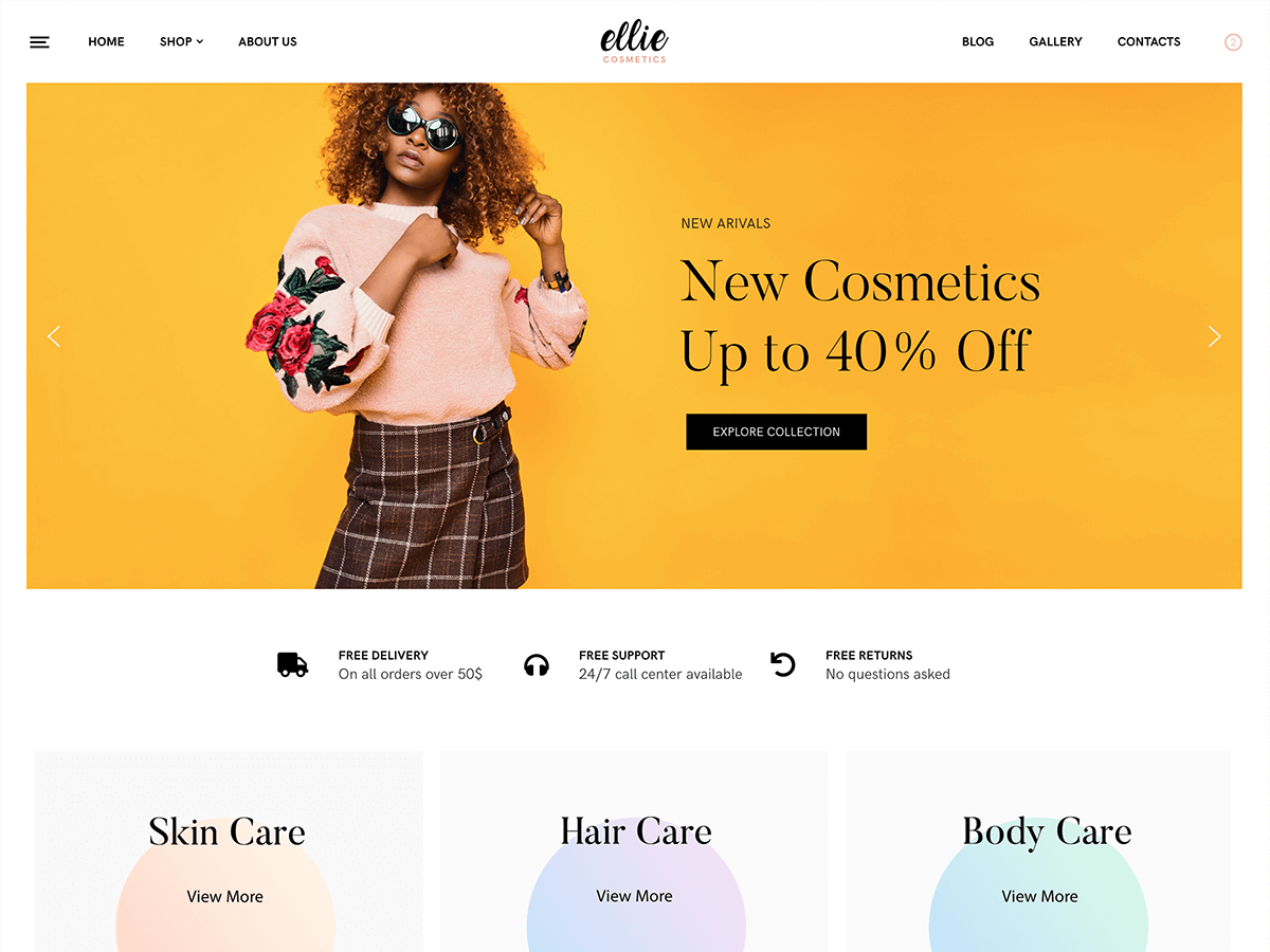 Ellie Download Free Wordpress Theme 1