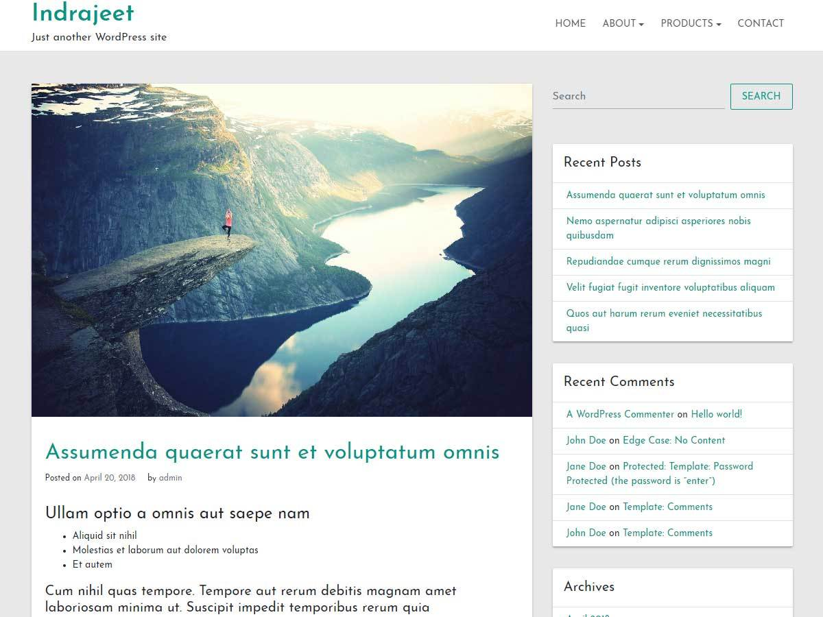 indrajeet Download Free Wordpress Theme 4