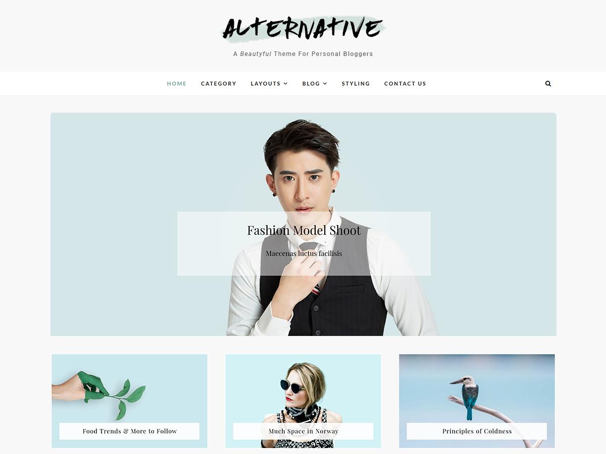 Alternative Download Free Wordpress Theme 1