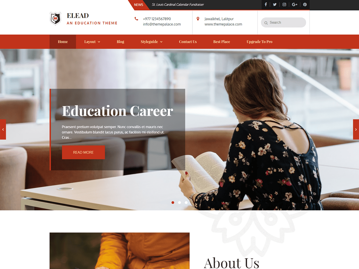 Elead Download Free Wordpress Theme 2
