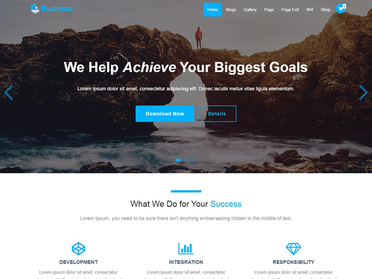 Business Idea Download Free Wordpress Theme 5