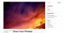 Backphoto Download Free WordPress Theme