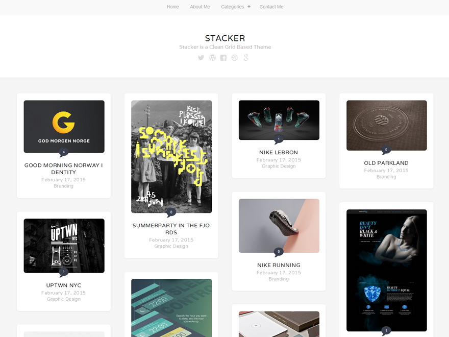 Stacker Lite Download Free Wordpress Theme 1