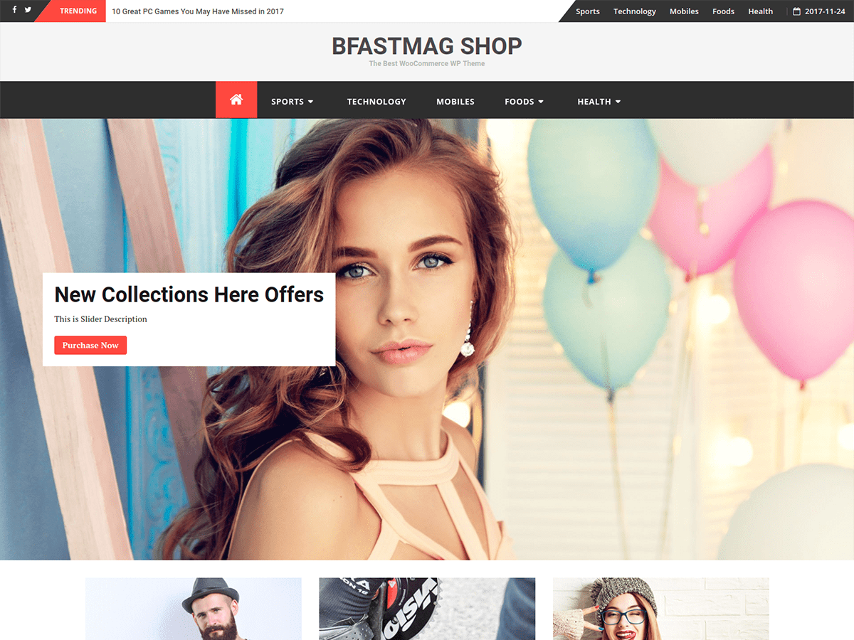 bFastMag Shop Download Free Wordpress Theme 3