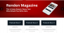 Renden Magazine Download Free WordPress Theme