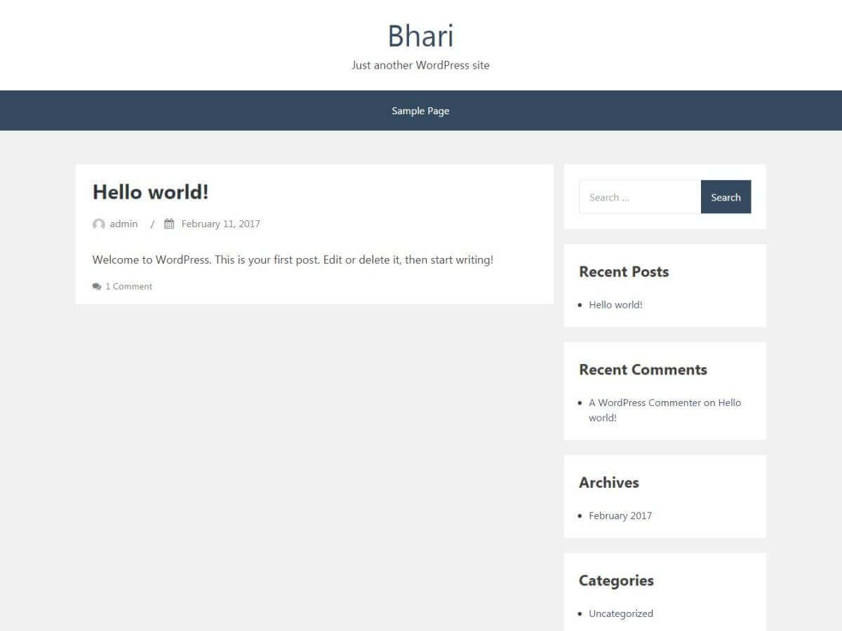Bhari Download Free Wordpress Theme 5