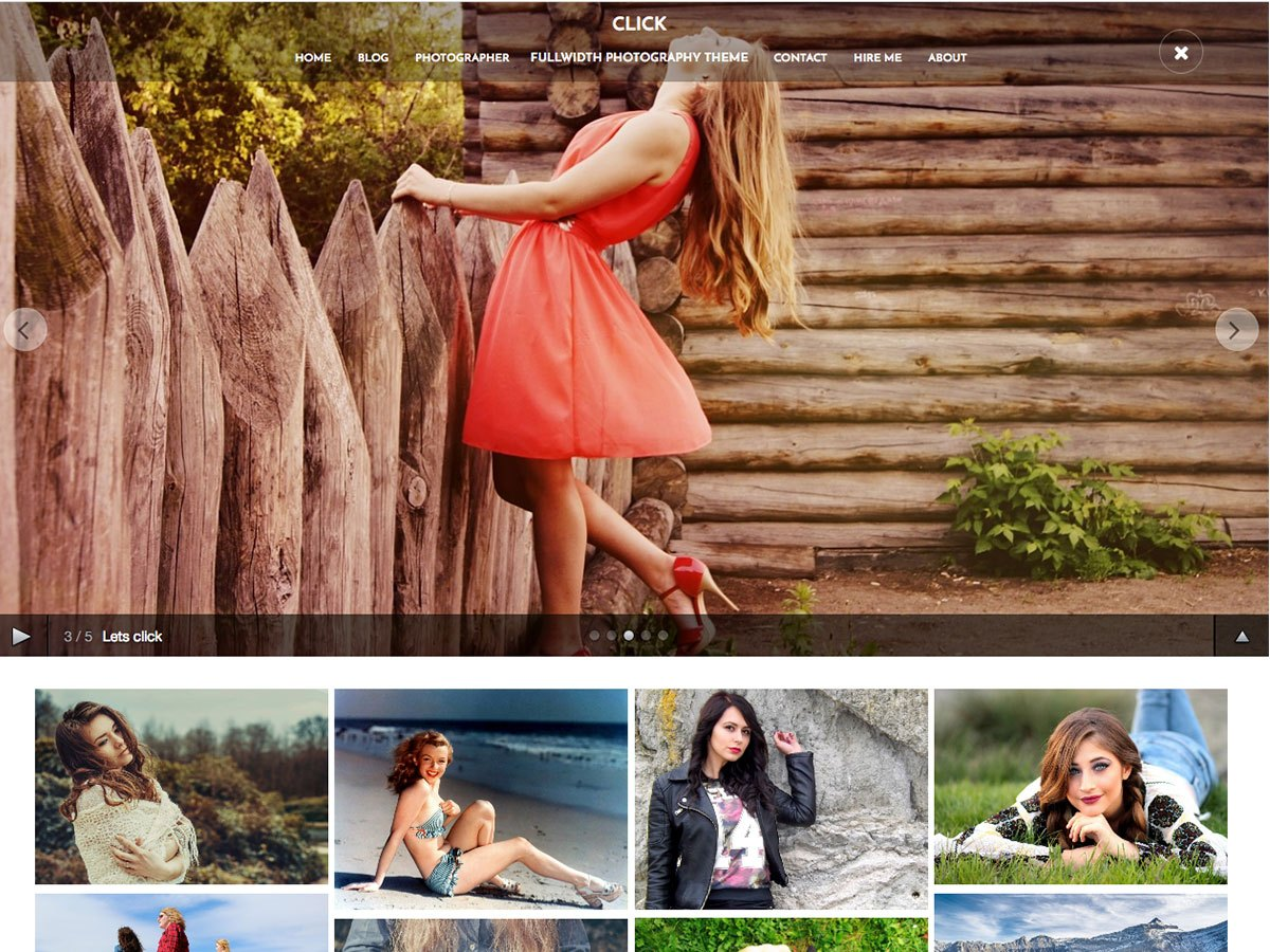 Click Download Free Wordpress Theme 2